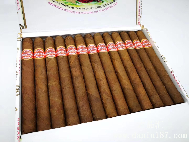Quintero Nacionales 金特罗君特欧 国民,金特罗系列的短茄芯雪茄。